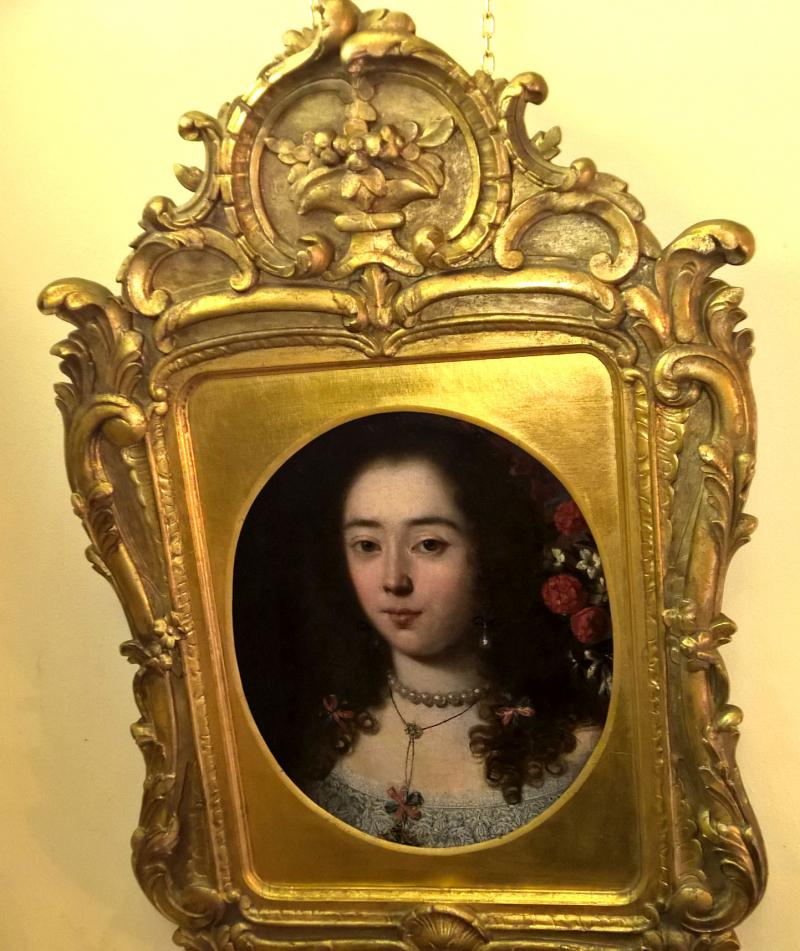 17th Century Old Master Portrait of a Girl in a Period Frame