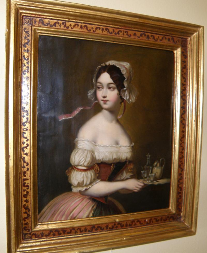 19th C.  European School Portrait