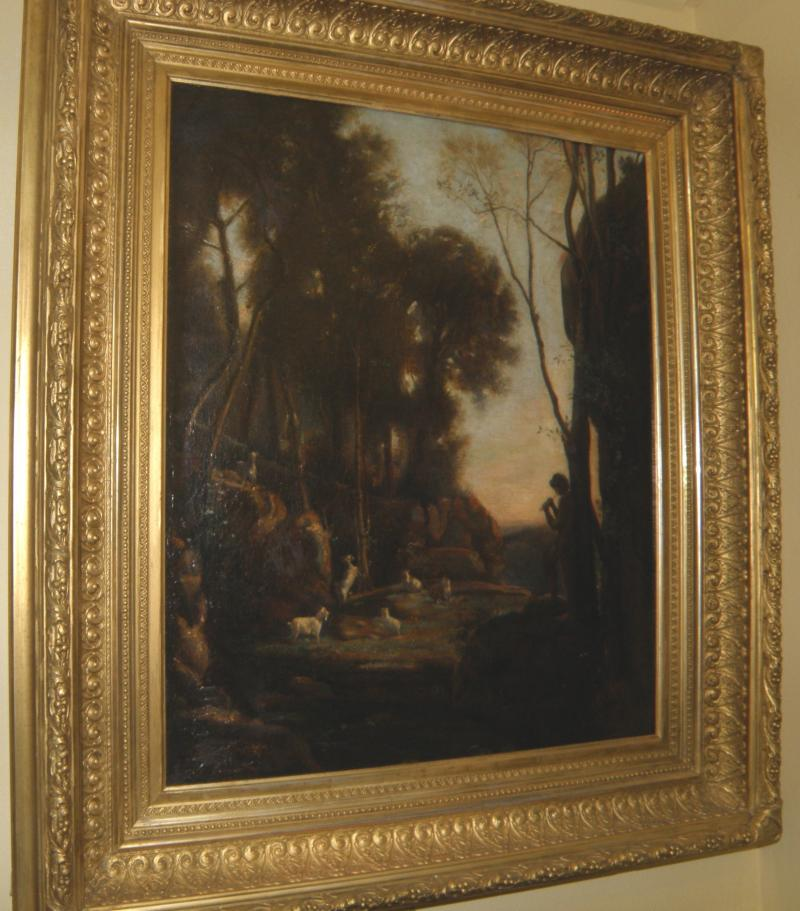 19th C. Pastoral Scene - European School