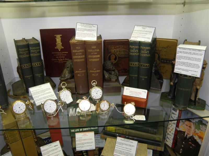 Books and Watches