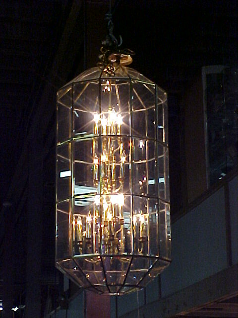 Pair of Large Chandeliers 2' x 4' for foyer or business
