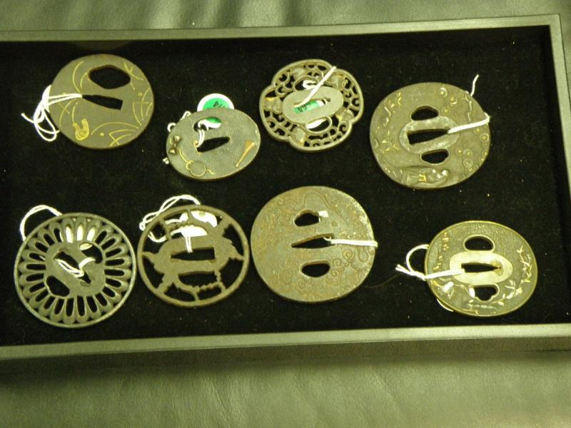 A collection of Japanese Tsubas 