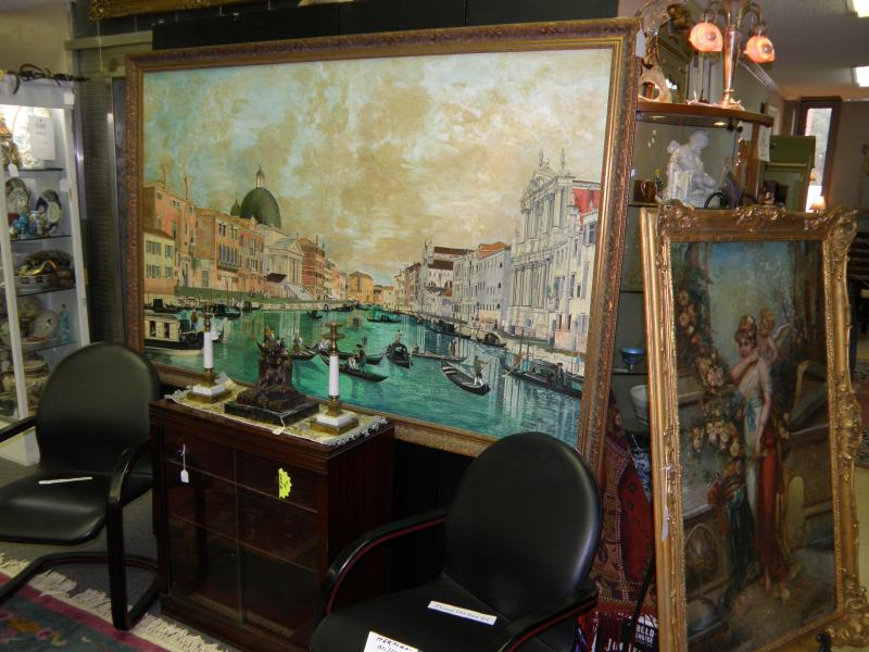 A large Venetian painting.