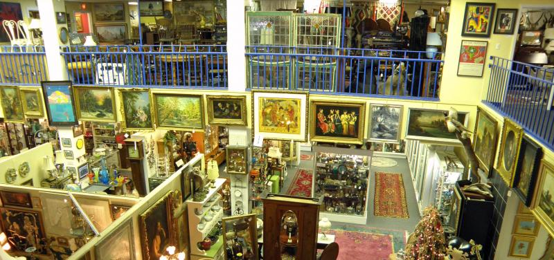 A view from the top - Antique Galleries Of St. Petersburg - About Us - Tampa Bay
