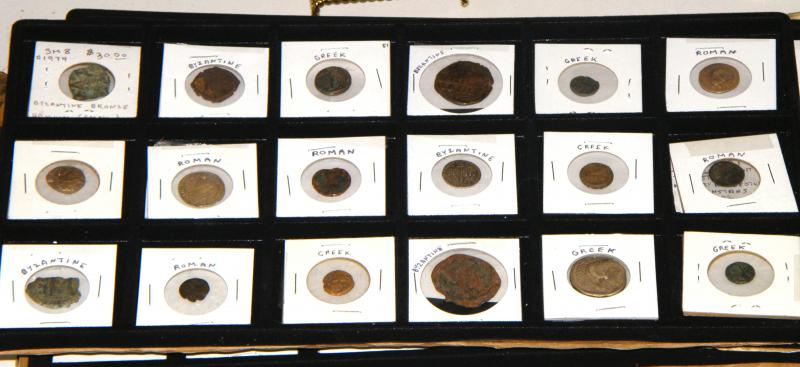 Ancient Byzantine, Greek and Roman Coins