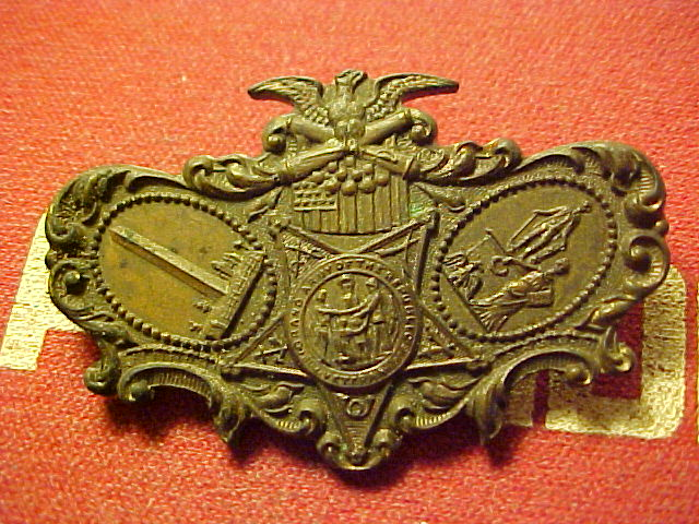 Civil War Army pin    1.75 inches Wide    7671