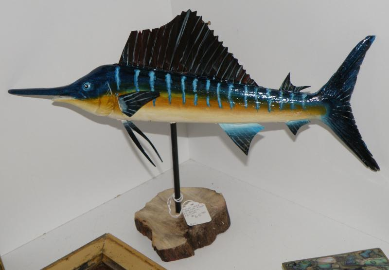 Austin Philips Sword Fish Carving