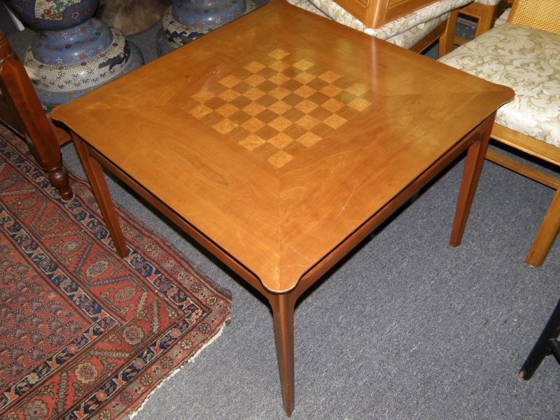 Mid Century Chess Table