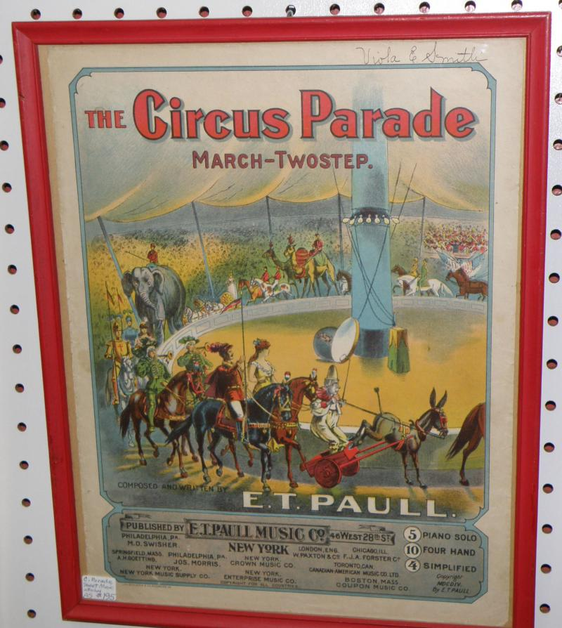 Circus Parade Sheet Music