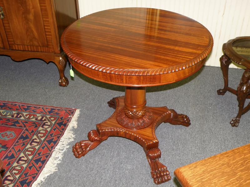 Claw-foot Table