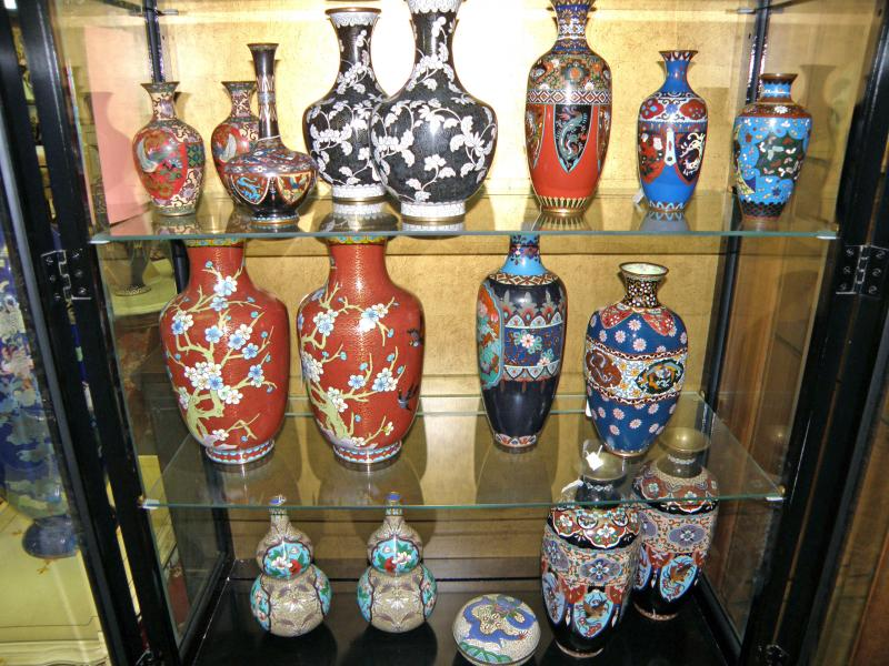 Cloisonne Display