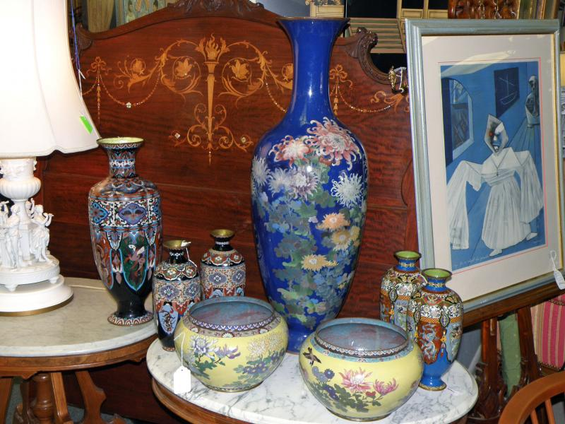 Cloisonne Grouping