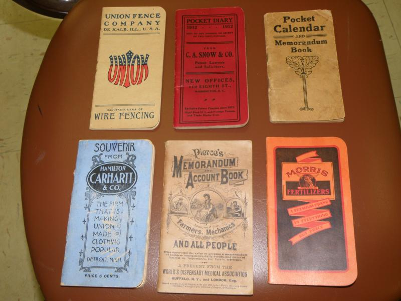 Early 1900s Advertising Handouts