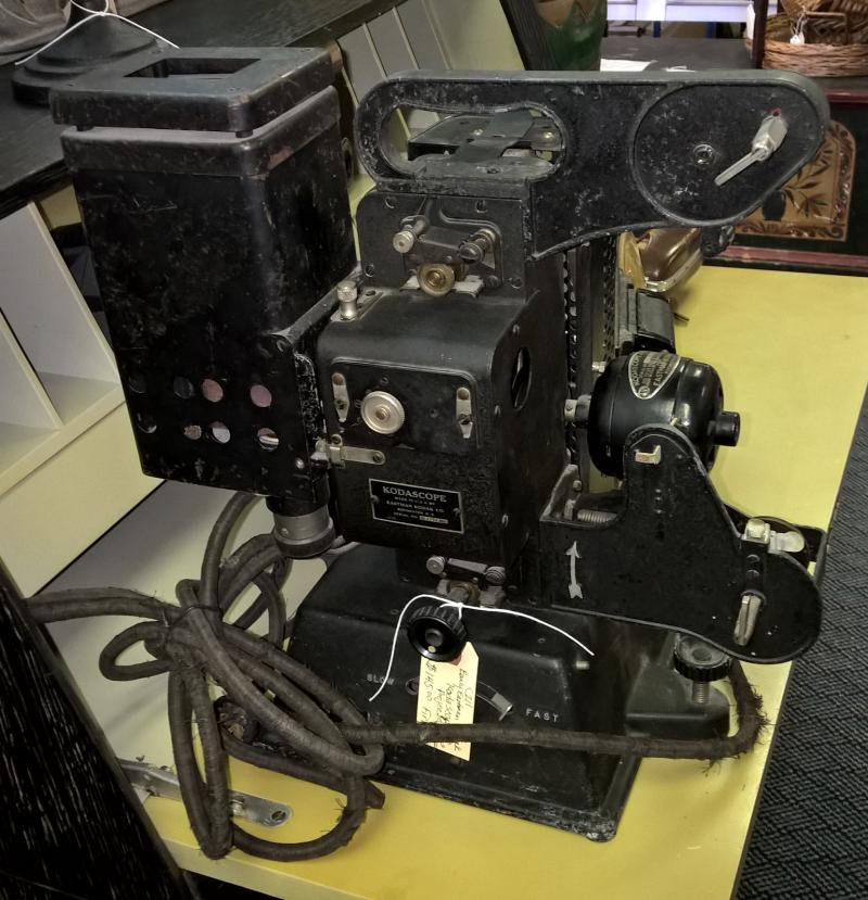 Early Eastman Kodascope Projector