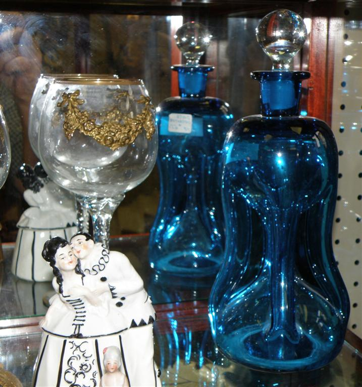 Exotic Blue Decanter