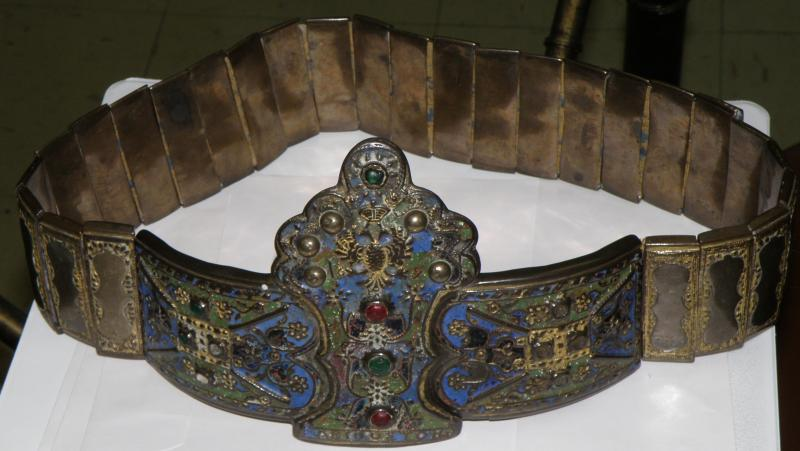 Fabulous Enameled Belt