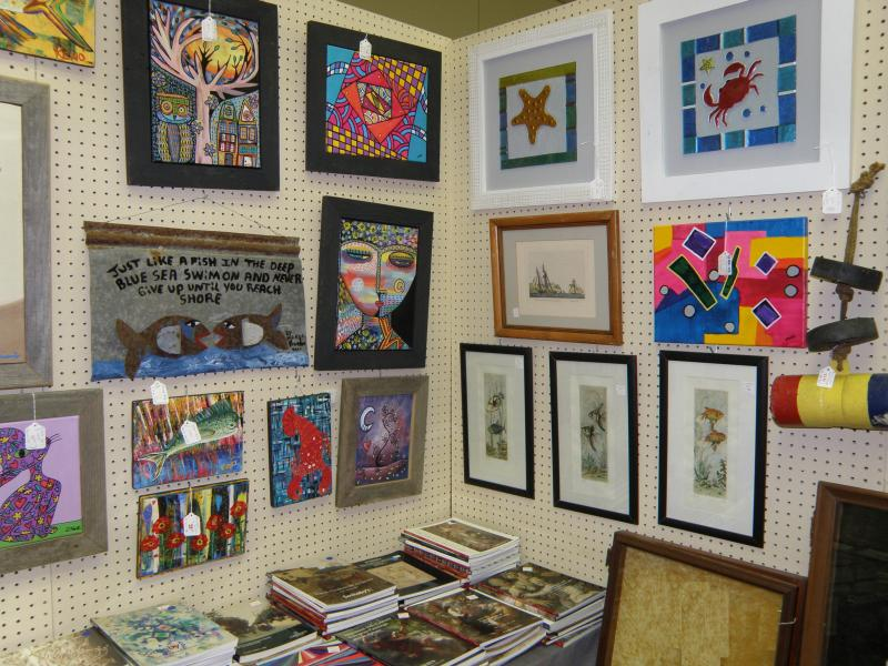 Folk Art Booth