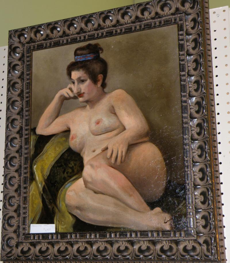 French Nude Ca  1870s