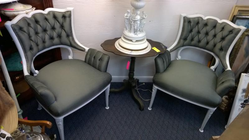 Hollywood Regency Chairs