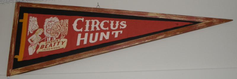 Hunt Circus Pennant, 'Harriet Beatty'