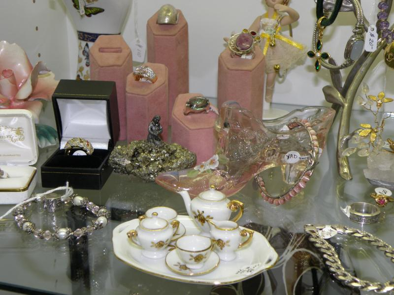 Jewelry and Tea Set