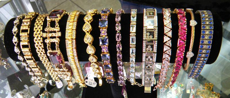 Lots of Beautiful Bracelets