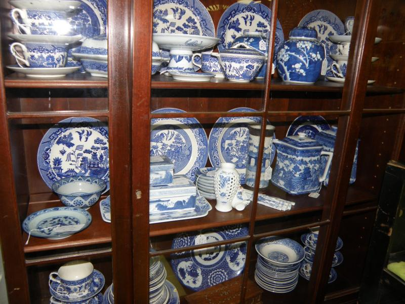 Lots of Blue and White Porcelains