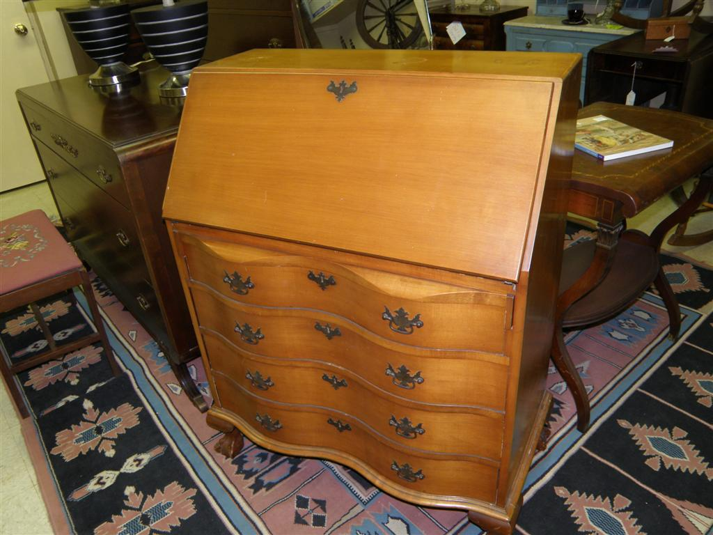... Maple Secretary Desk By Northern Furniture Co, Sheboygan, WI ...