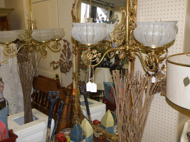 Matching Pair of Chandeliers