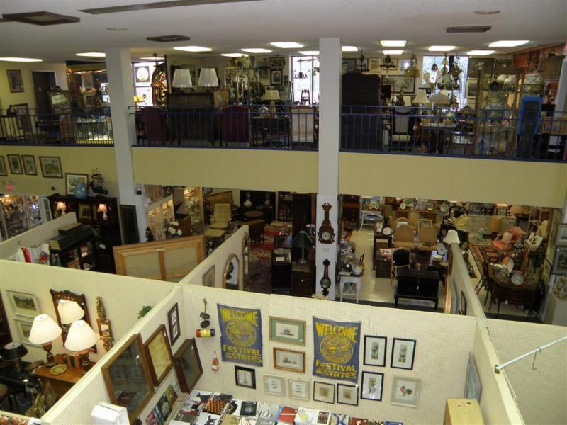 Antique Galleries Of St Petersburg Antiques Mall In