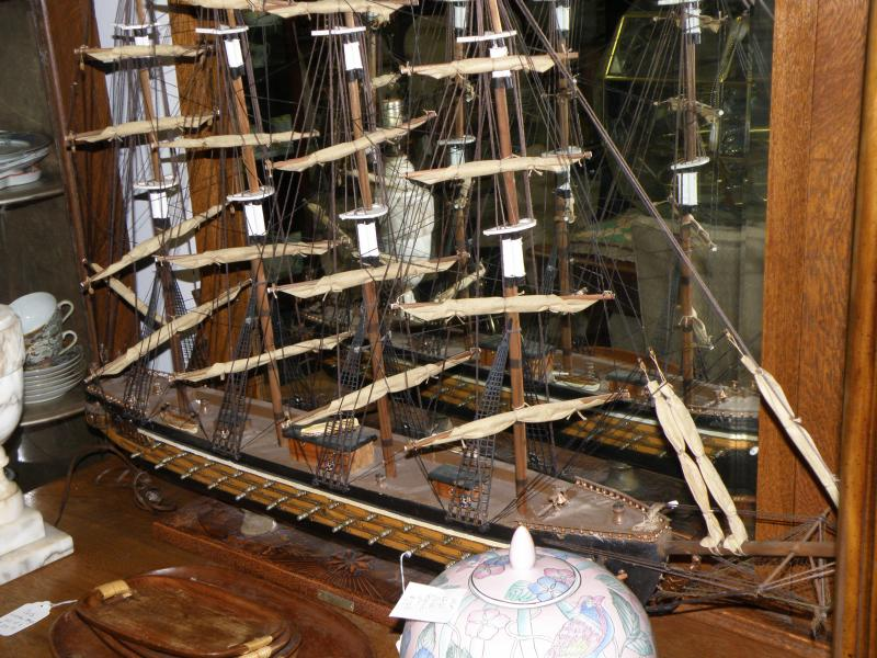 Antique Galleries Of St Petersburg Nautical Antiques And Collectibles Ship Replicas Dive