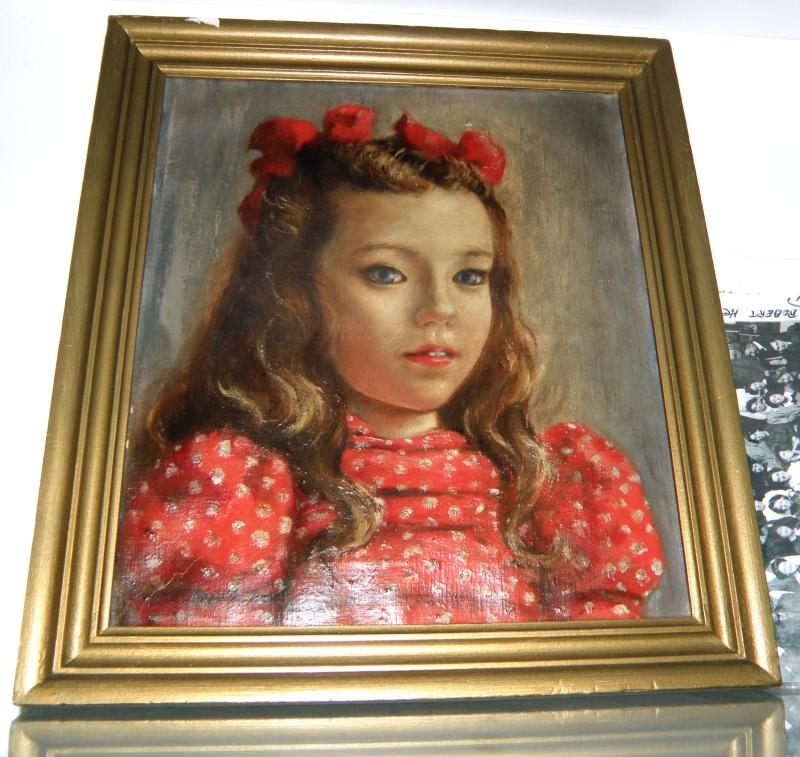 Oil on Canvas. Signed Robert Henri. Estate Stamp Verso