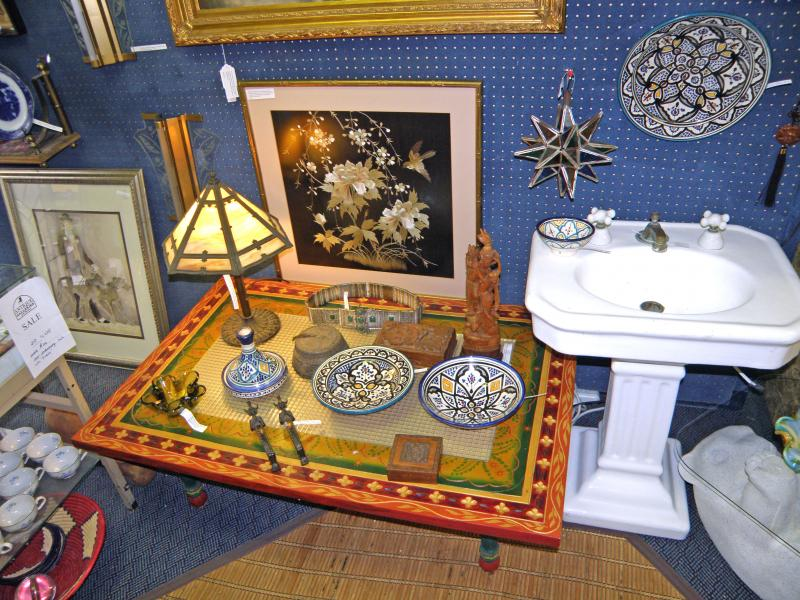 Old Pedestal Sink