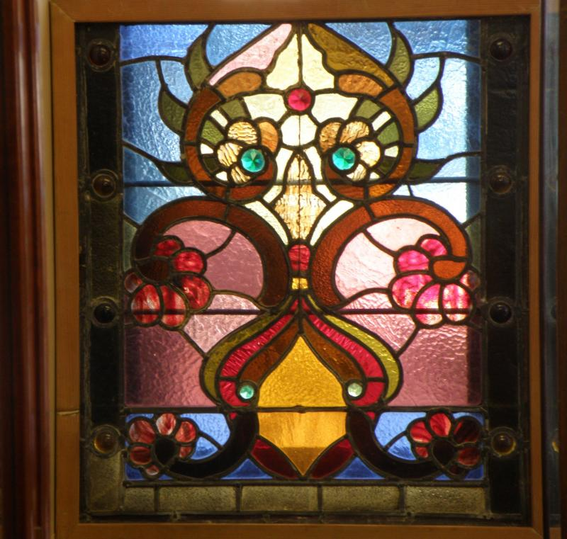 Old Stained Glass Panel