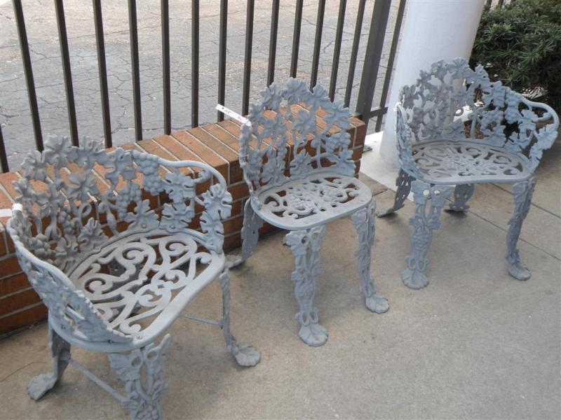 Outdoor Ornate Chairs