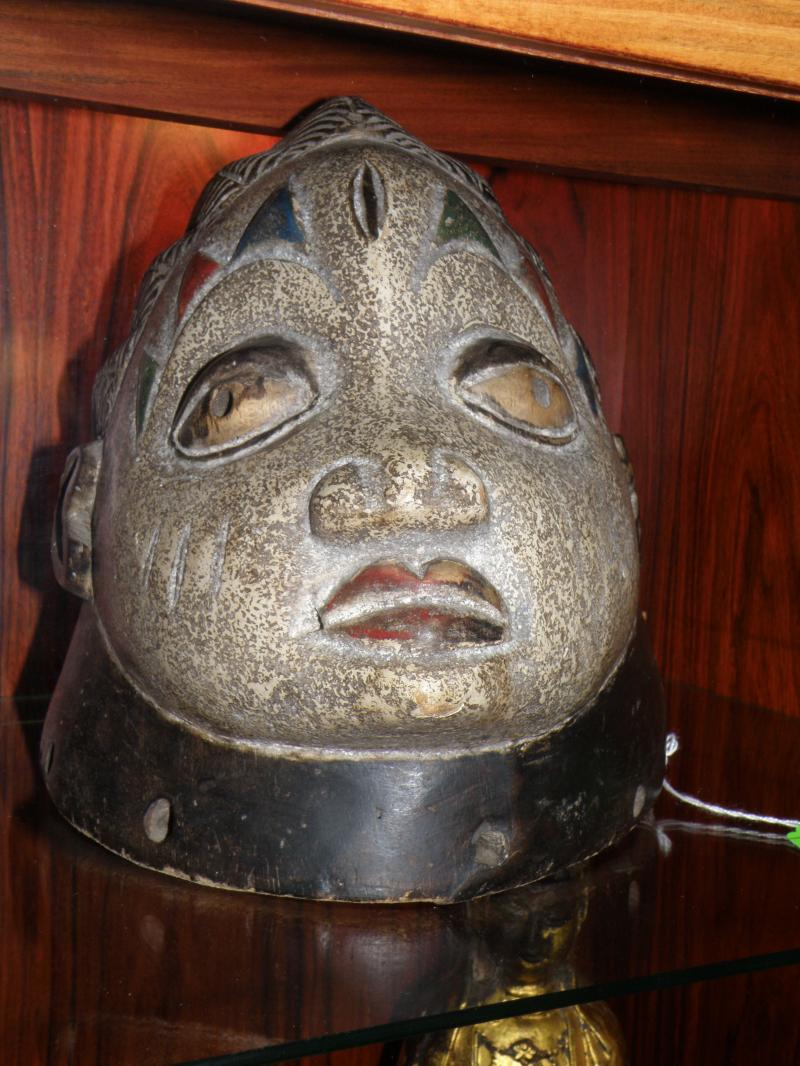 Nigerian Yaruba Head Mask