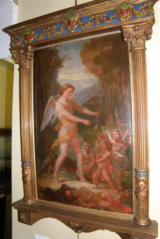 Old Master School Painting Arrow Amour or Cupid