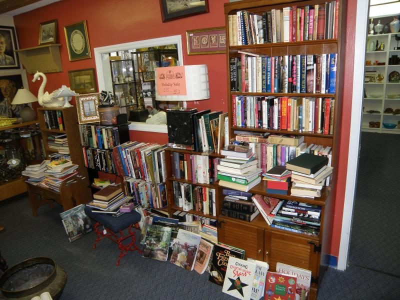 A Library Overflowing