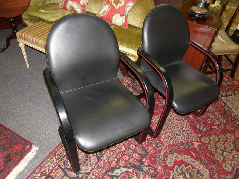 Pair Howard Miller Chairs