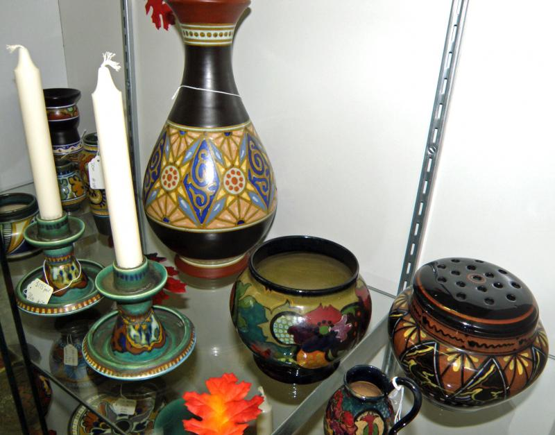 Dutch Gouda Pottery, Art Nouveau or Art Deco