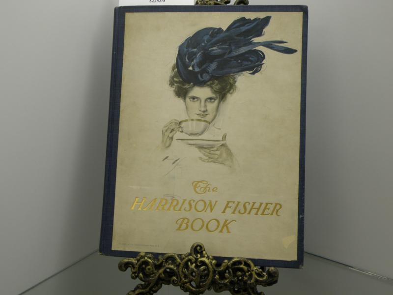Rare First Edition 'Harrison Fisher Book, A Collection of Drawings. 1907