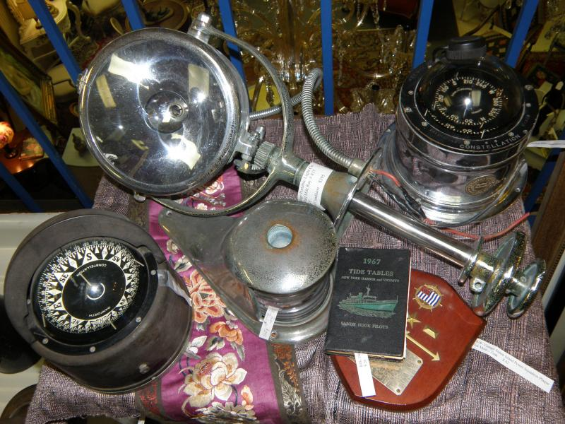 Ship Compasses and Boat Searchlight