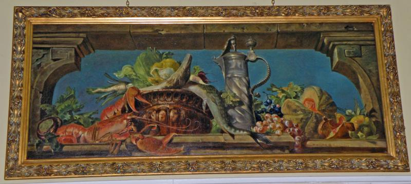 Still Life with a Lobster by a Dutch Artist, 19th Century