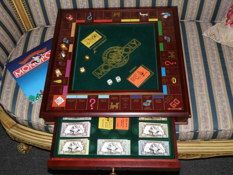 The Collector's Monopoly Edition   Parker Brothers 1991