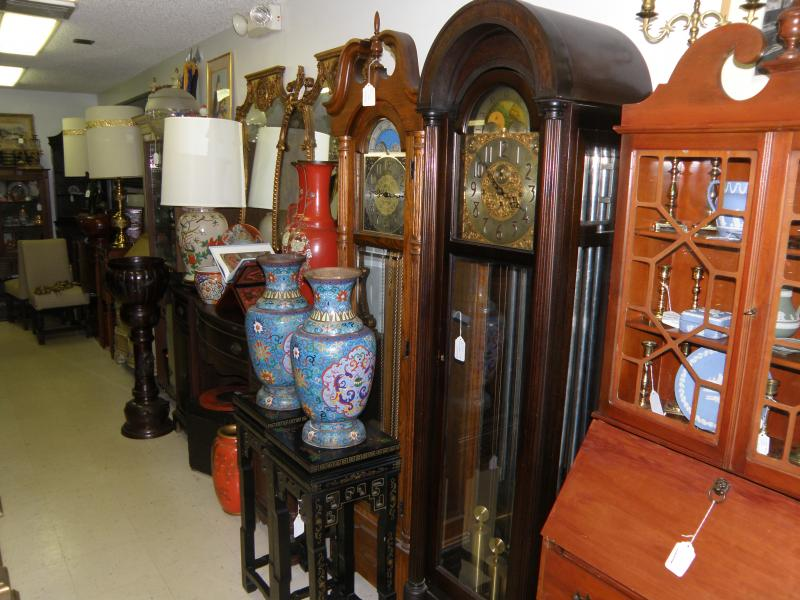 We have three Grandather Clocks